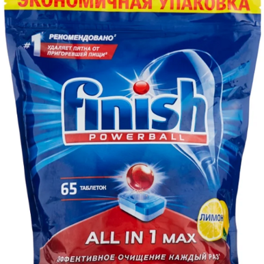 Таблетки для пмм Finish all in1  65шт.